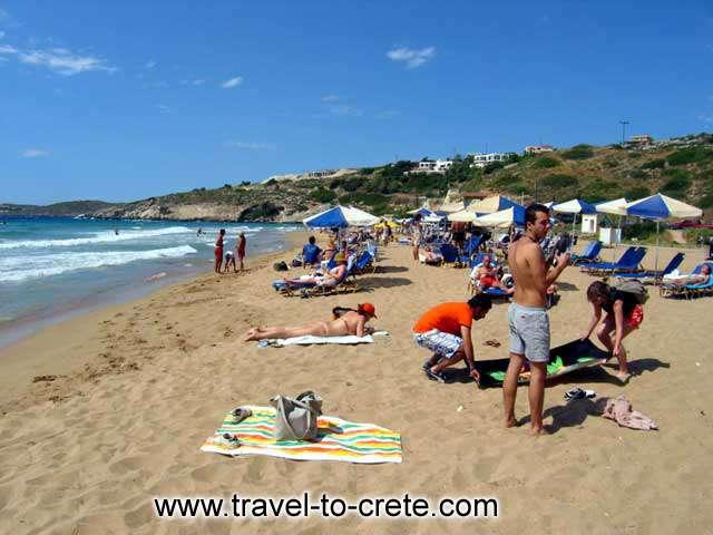 Kalathas - The beach of Kalathas