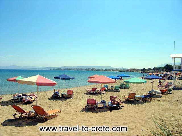 Chrissi Akti - The beach at Chrissi Akti (Golden Beach)