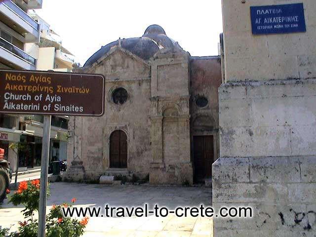 AGIA AIKATERINI - Agia Aikaterini of Sinaites