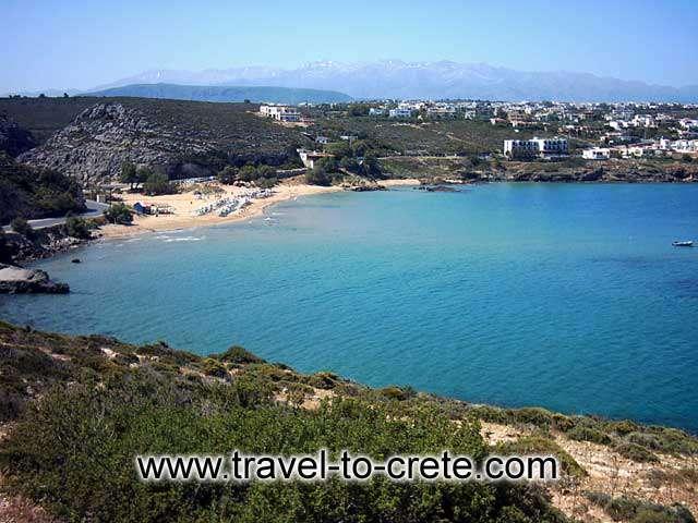 AKROTIRI STAVROS - The bay of Stavros