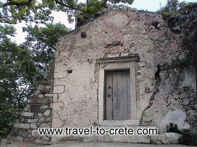 ASITIS - The small church of Agios Pavlos