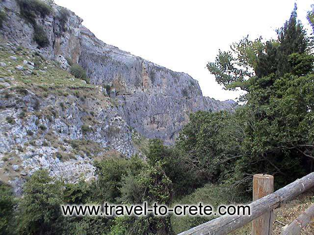 ASITIS - The small gorge view from Agios Pavlos