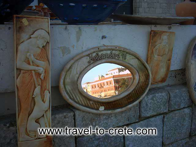 CHANIA TOWN - A Cretan kalimera (goodmorning) mirror