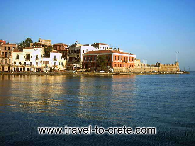 CHANIA TOWN - The port of Chania