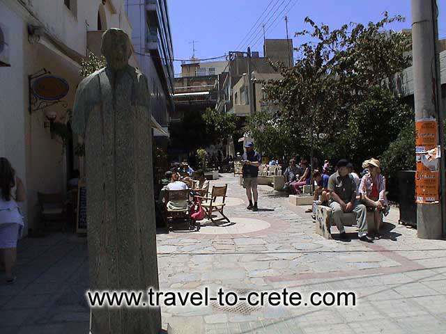 HERAKLION - The coffee district