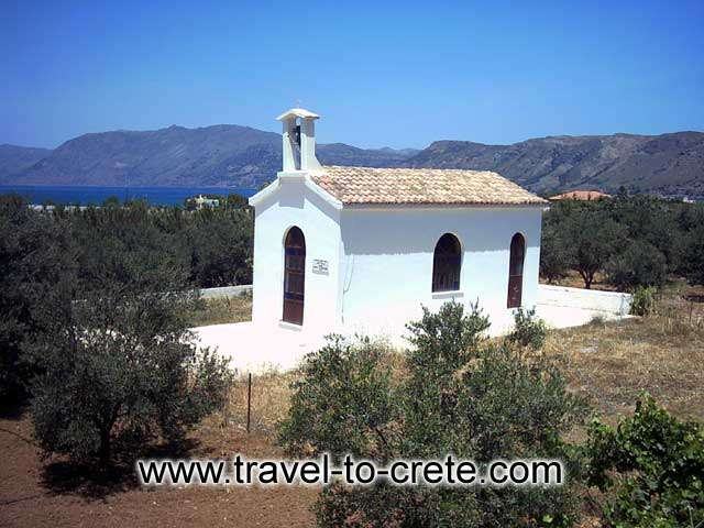 KASTELI - A small church in Kasteli