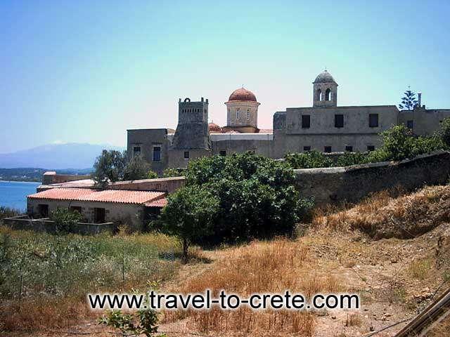 KOLYMPARI - Monastery of Eso Gonias
