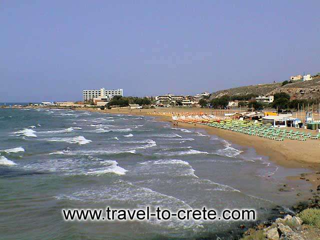 MALIA - The beaches is what brought tourism in Malia at the first place.