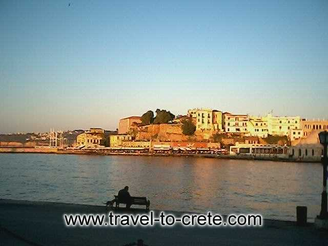 THE OLD PORT - Crete, but specifically the county of Chania, impresses its visitors and rightly so. The history, the cultural inheritance, the local people, the historical monuments, the superb natural environment but also the provision of high quality tourist services