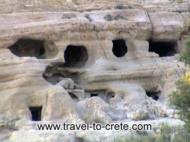 MATALA - The famous caves