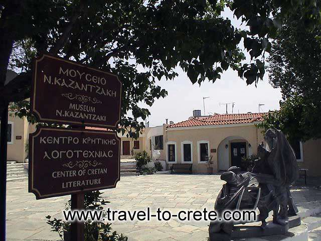 KAZANTZAKIS MUSEUM - The Kazantzakis Museum is situated in Varvaroi, approximately 20 km. to the south of Herakleion.