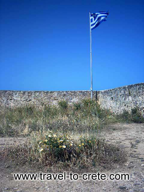 FORTEZZA - The Greek flag