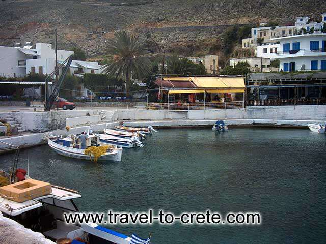 CHORA SFAKION - Sfakia small port