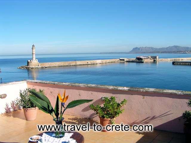 Chania port -