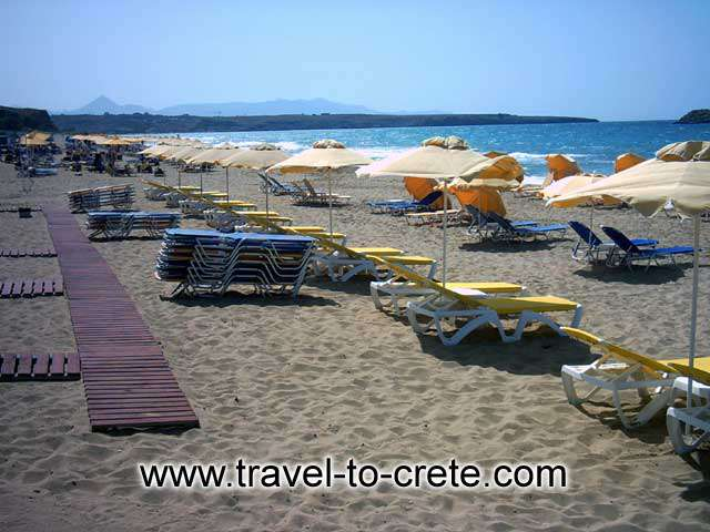 HERSONISSOS - Hersonissos beach