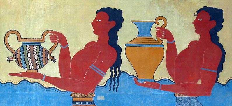 Island Home Of The Minoans