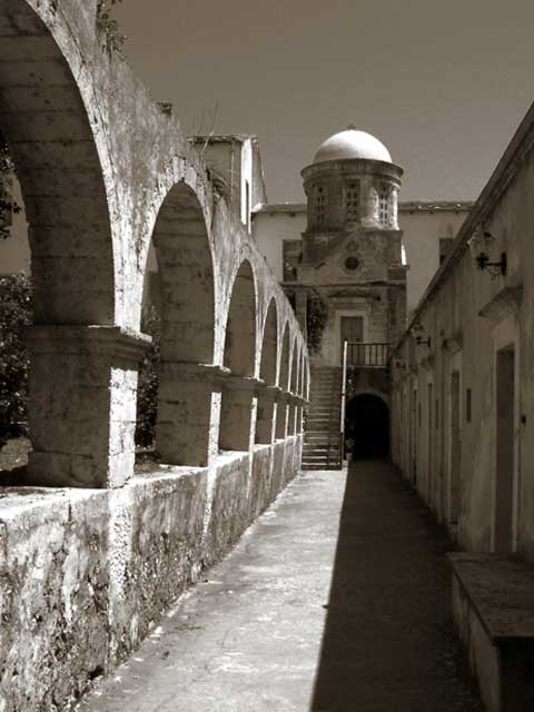 Aghia Triada Monastery - Another photo from Aghia Triada Monastery on Crete.   by Dmitry Aleksandrov