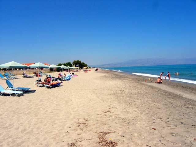 Crete Gerani Caldera Beach Map