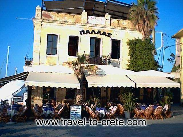 Chania port - The traditional building of Pallas