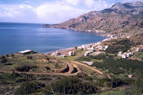Tsoutsouros beach -