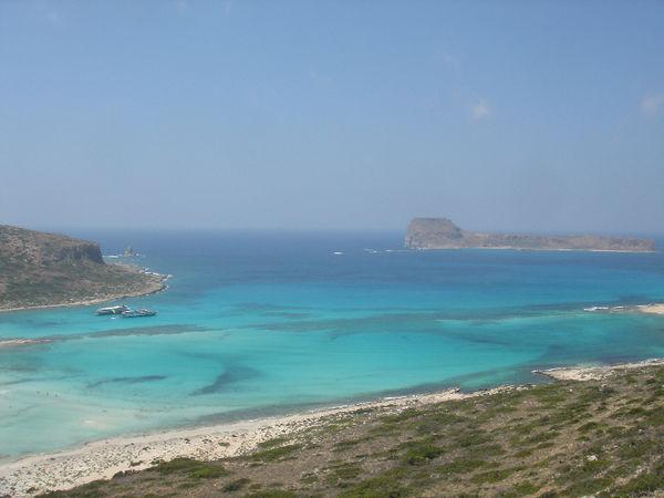 Balos beach -