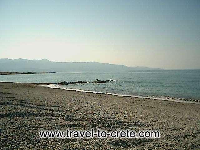 Maleme beach -