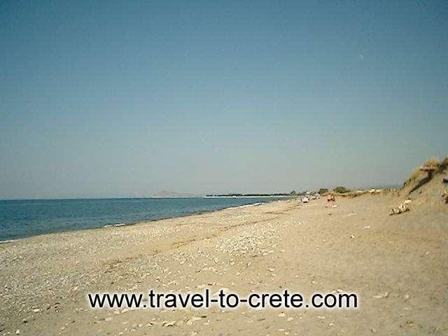 Kolymbari beach -