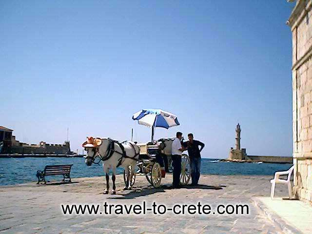 Take a ride! A visit to this city will prove very interesting, as it combines modernism with tradition, and it can satisfy the inquisitive visitor with its many culturally important sights to see. CRETE PHOTO GALLERY - CHANIA OLD PORT