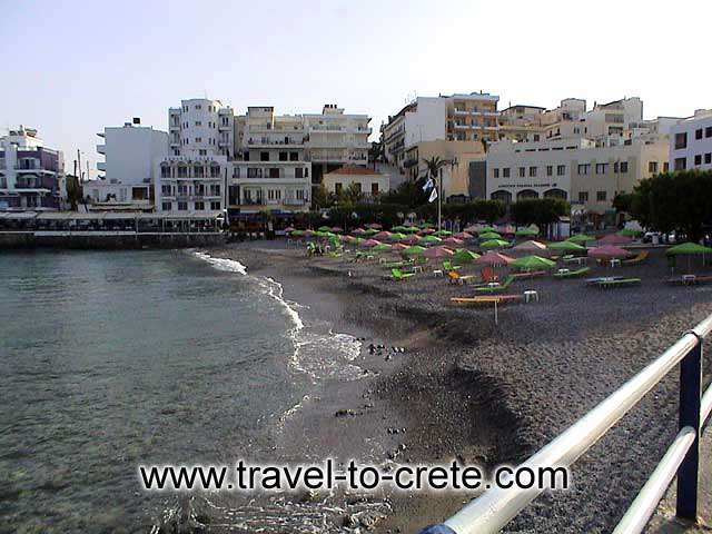 Agios Nikolaos - The beach of Agios Nikolaos