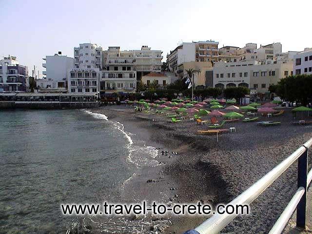 Agios Nikolaos - The beach of Agios Nikolaos