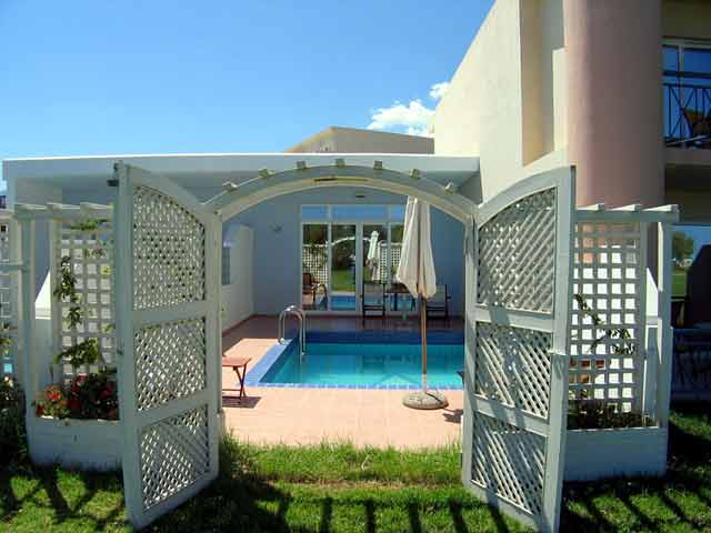 Mythos Palace Hotel Villa's Swimming Pool image CLICK TO ENLARGE