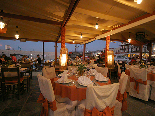 EROTOKRITOS - TAVERN IN  44, Nearhou str. - Old Venetian port