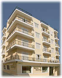 The Kastro Hotel on Heraklion - Crete CLICK TO ENLARGE