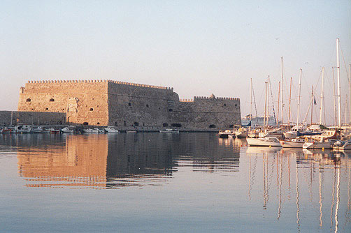 The Castle Koules on Heraklion - Crete CLICK TO ENLARGE