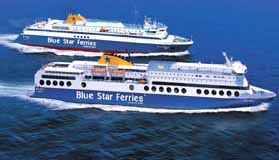 Blue  Star Ferries CLICK TO ENLARGE