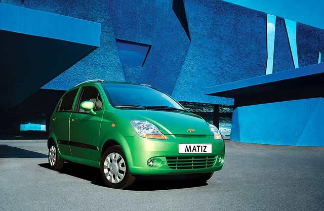 Chevrolet Matiz - 1000cc - A/C - 5 Doors CLICK TO ENLARGE