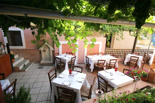 From Old Village Restaurant you can enjoy very tasty food and fantastic view CLICK TO ENLARGE