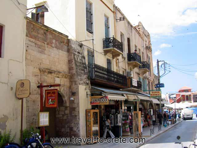 Kydonia Apartments at Halidon str. Old Town - Hania - Crete CLICK TO ENLARGE