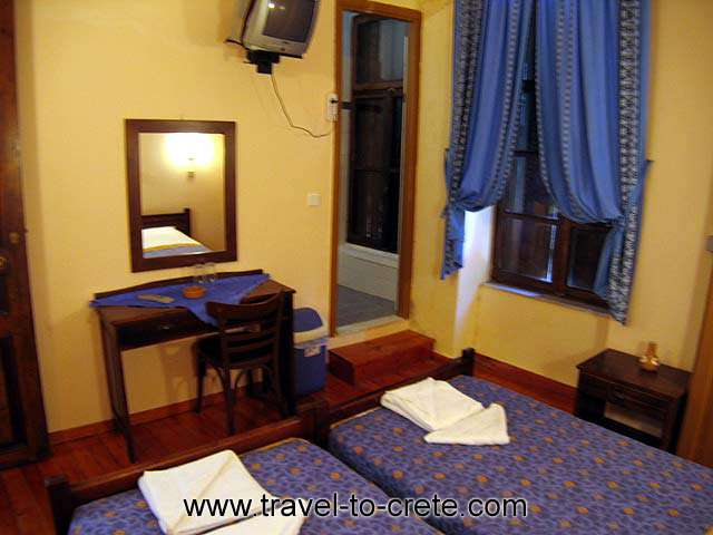 The double room of Kydonia Apartments CLICK TO ENLARGE
