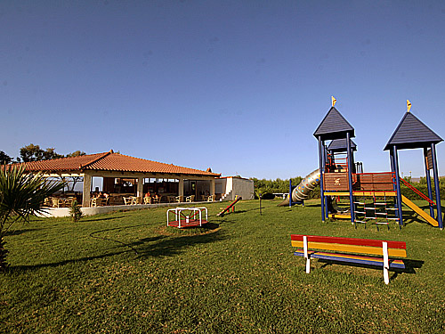 The playground of Eliros Hotel CLICK TO ENLARGE