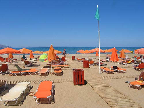 The Eliros beach, next to the Hotel is wonderfull sandy beach CLICK TO ENLARGE