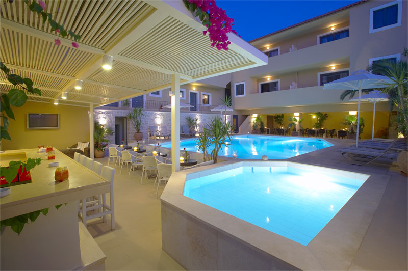 LA STELLA HOTEL APARTMENTS AND SUITES IN  Platanes Rethymnon