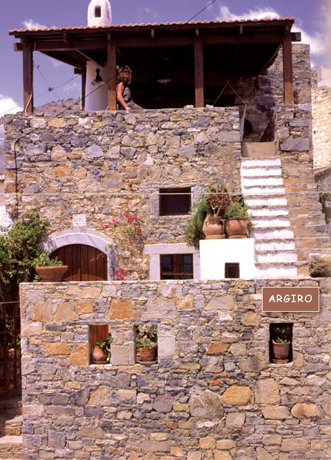Argiro Traditional villa of the traditional Homes of Crete CLICK TO ENLARGE