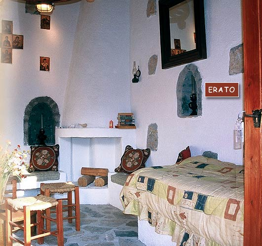 Inside view of Erato Villa of the traditional Homes of Crete CLICK TO ENLARGE