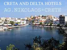 CRETA and DELTA HOTELS  HOTELS IN  Kitroplatia - Ag. Nikolaos