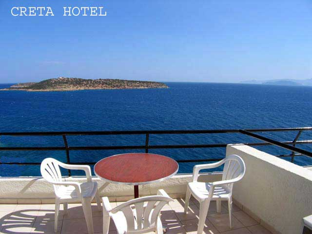 Wonderful view from the apartments balcony of Creta Hotel. Enjoy! CLICK TO ENLARGE