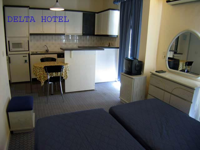 The apartment of Delta Hotel CLICK TO ENLARGE