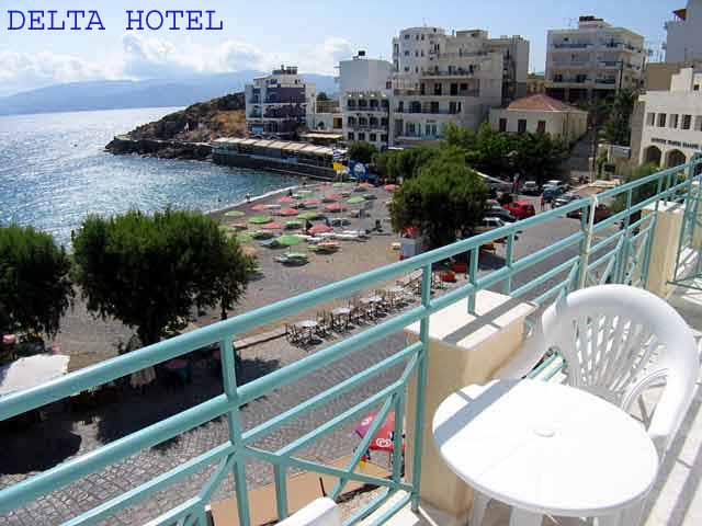 From the balcony of an apartment at Delta Hotel you can enjoy the wonderful sea view CLICK TO ENLARGE
