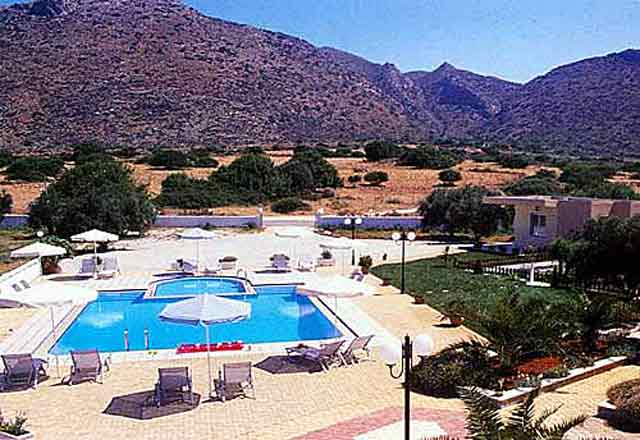 The Paradisio Hotel in Stavros Akrotiri CLICK TO ENLARGE