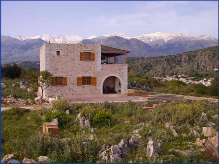 New stone home in Neo Chorio (New Village) CLICK TO ENLARGE